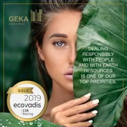 GOLD for GEKA - CSR Rating EcoVadis